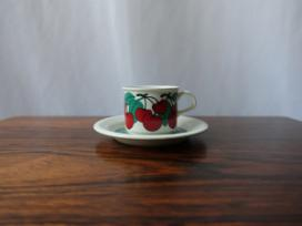 KIRSIKKA COFFEE CUP&SAUCER