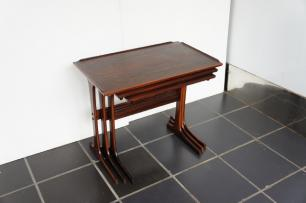 ROSEWOOD NEST OF TABLE