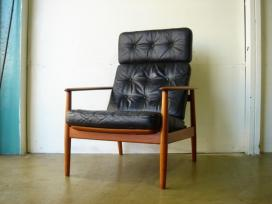TEAK HI-BK CHAIR