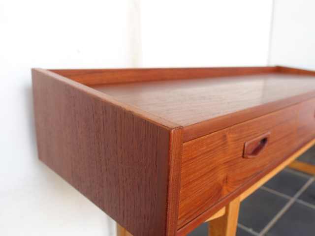 TEAK OAK LOW SIDEBOARD